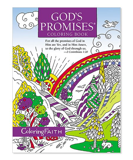 The Berenstain Bears Gods Promises Coloring Book   Zulily