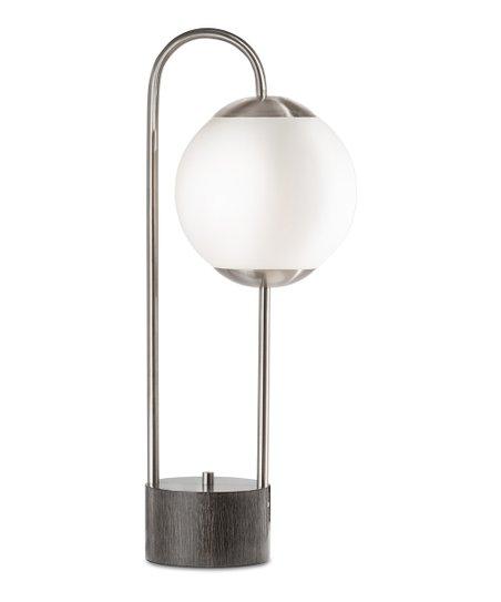 Nova Furniture Brushed Nickel Globus Table Lamp