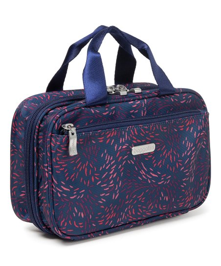 Baggallini Navy Red Firework Hanging Toiletry Bag Zulily