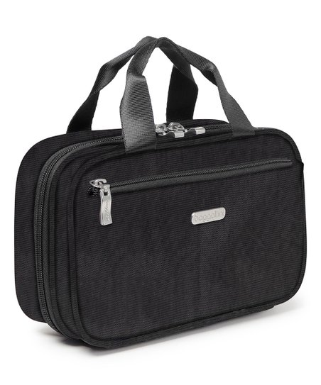 Baggallini Black Charcoal Hanging Toiletry Bag Zulily