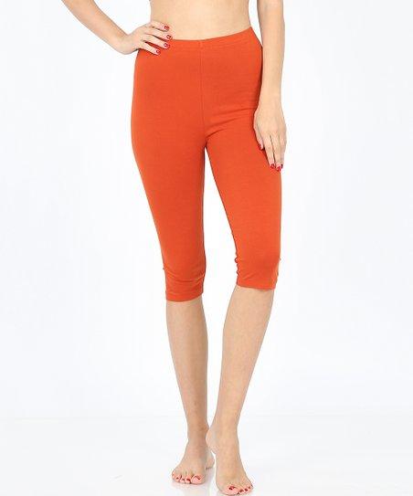 5268dd4be29cdf love this product Copper Capri Leggings - Women & Plus