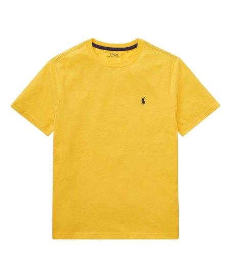 88da64a810942c Polo Ralph Lauren Yellow Fin Crewneck Tee - Boys | Zulily