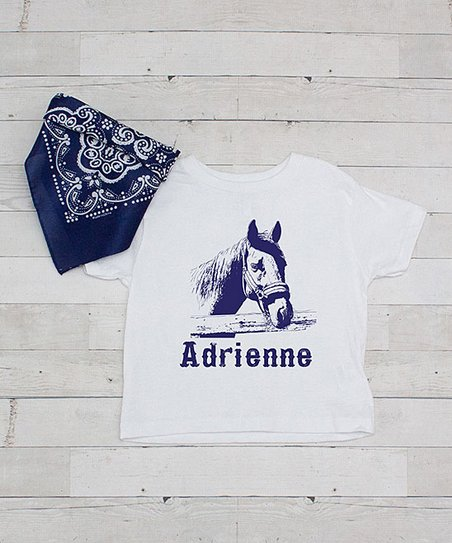 Personalized Horse Dreams Birthday Girl T-Shirt
