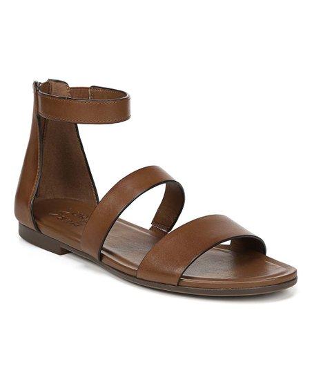 df543db586fee4 love this product Saddle Tan Tish Leather Sandal - Women