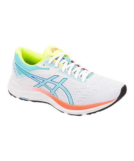 ASICS White & Ice Mint Gel Excite 6 SP Sneaker Women | Zulily