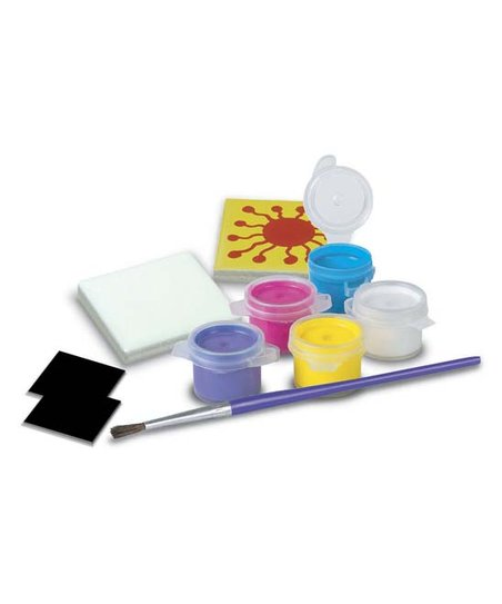Coco & Mac Toys Green & BLue Multicolor 17-Piece DIY Fridge Magnet Set