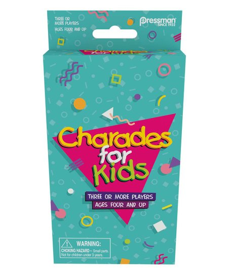 Pressman Toy Charades for Kids Retro Game