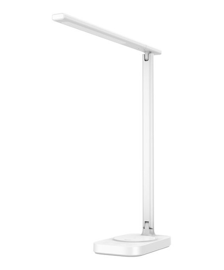 Charger Folding White Wireless Desk Led Qi Baseus 10w Lamp zVMUqSp