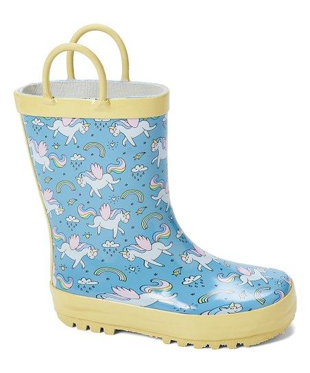 unicorn rain boots girls
