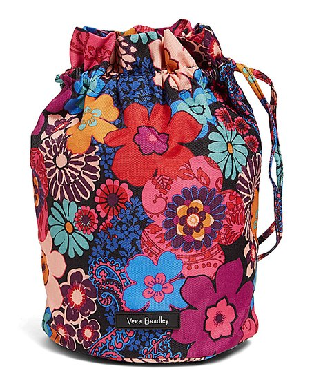 Vera Bradley Fl Fiesta Lighten Up Mini Ditty Bag