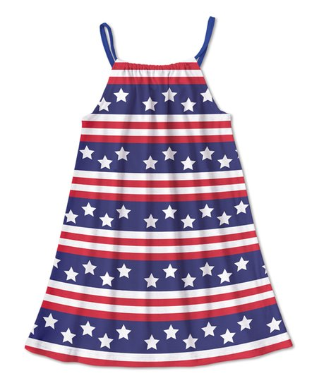 06d2f78e7c0 love this product Navy & Red Stars & Stripes Pillowcase Dress - Toddler &  Girls