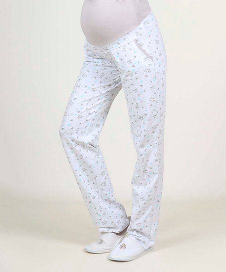 Ohma White Sleeping Tips Tricks Maternity Pajama Pants Best Price And Reviews Zulily