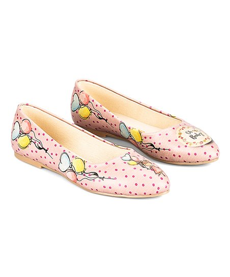 8aaf140ca346 love this product Pink   Blue Polka Dot  Oh Baby  Ballet Flat - Women