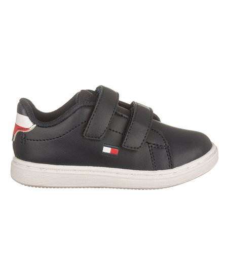 0c192479 Tommy Hilfiger Navy Iconic Court Hook & Loop Sneaker - Boys | Zulily