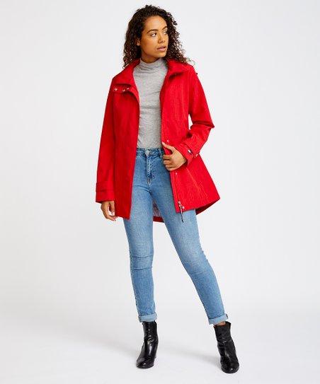 beliebte Geschäfte großhandel online Gratisversand Tommy Hilfiger Crimson Hooded Jacket - Women