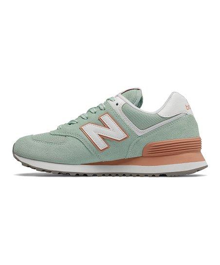Balance White Agave 574 Sneaker - Women