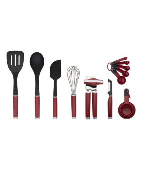 KitchenAid Empire Red 15-Piece Tool & Gadget Set