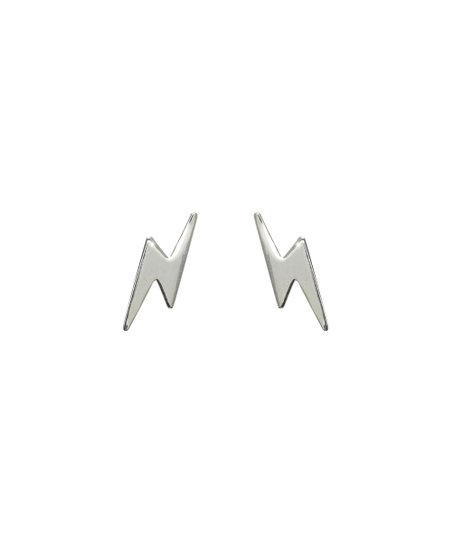 Ag Sterling Jewelry Sterling Silver Lightning Bolt Stud Earrings Best Price And Reviews Zulily