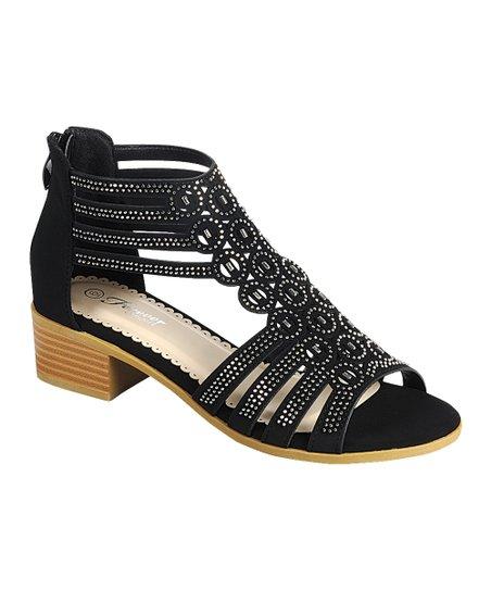 98c256d80b6d3 Black Form Strappy Cutout Sandal - Women