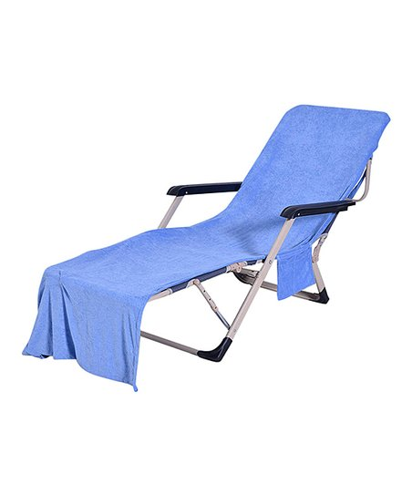 Fantastic Blue Waves Blue Beach Chair Towel Cover Zulily Gmtry Best Dining Table And Chair Ideas Images Gmtryco
