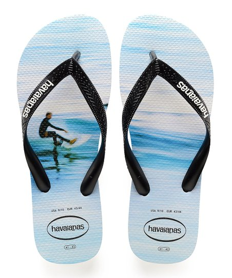 a62c404af love this product White   Blue Hype Flip-Flop - Men
