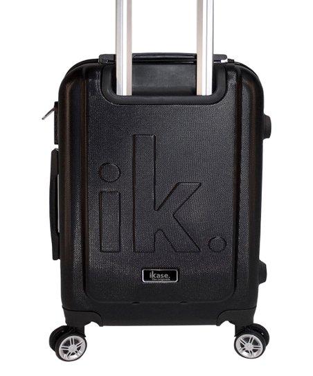 Ikase Hardside Spinner Luggage Skull Floral