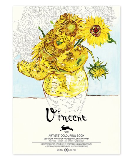 - Pepin Press Vincent Van Gogh Artists Coloring Book Best Price And Reviews  Zulily