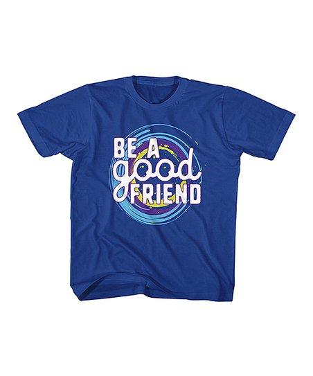 Royal 'Be a Good Friend' Tee - Toddler & Kids