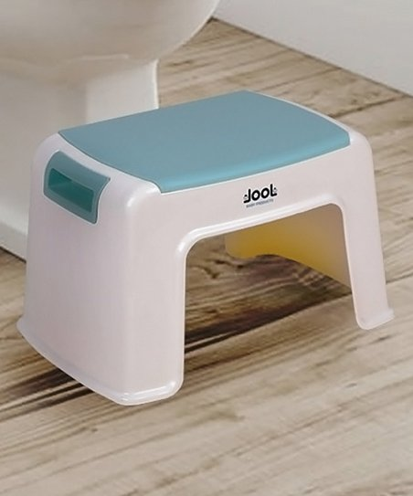 Sensational Jool Baby Products White Blue Kids Nonslip Step Stool Creativecarmelina Interior Chair Design Creativecarmelinacom