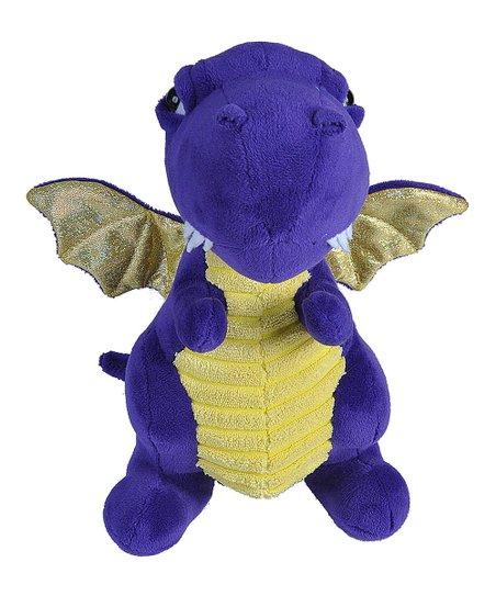 Wild Republic Purple & Gold Dragon Plush Toy