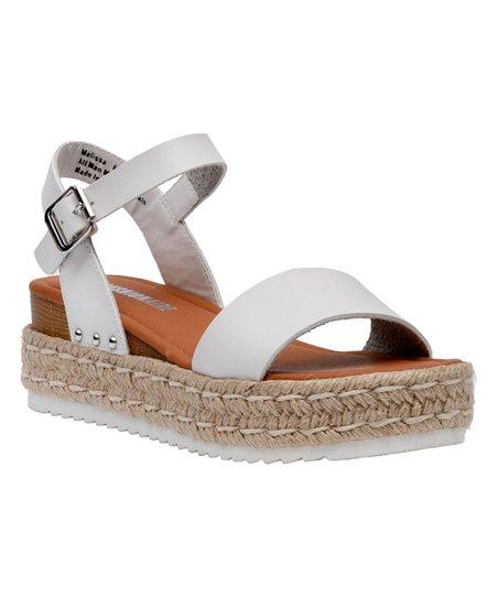 Espadrille Platform Cushionaire White Sandal Melissa WomenZulily AR3jL54