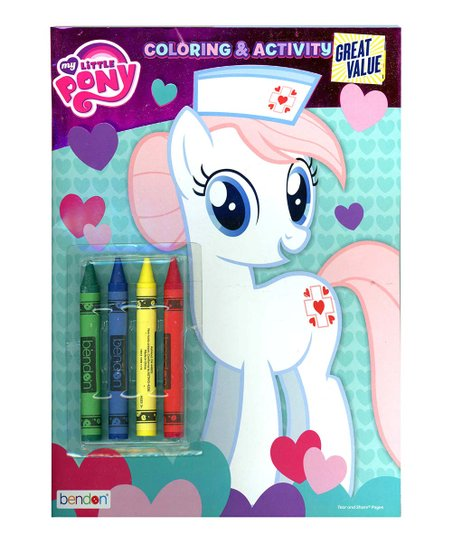 - UPD My Little Pony Coloring Crayon & Activity Book Set Best Price And  Reviews Zulily