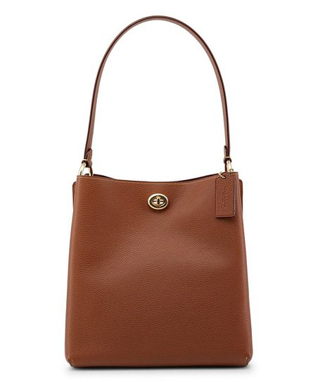 1d742e700f9ec love this product Saddle Charlie Leather Bucket Bag