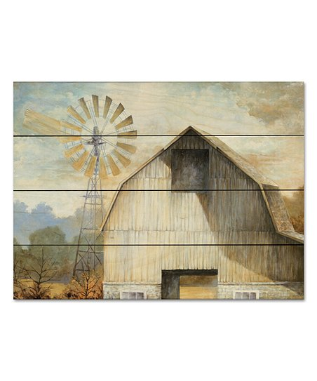 Wooden Creek Essentials Barn Country Wood Pallet Wall Art