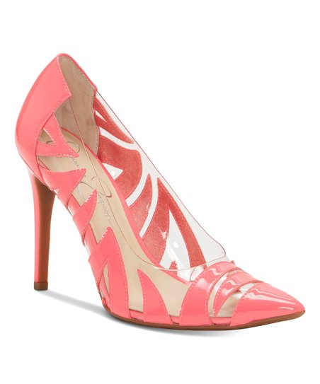 380be8f1819 Jessica Simpson Collection Neon Pink Palmra Patent Leather Pump - Women