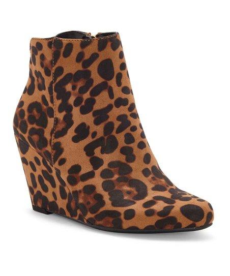 jessica simpson leopard booties
