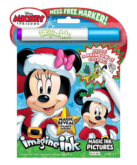 Mickey/Minnie Mouse Imagine Ink Coloring Book Best Price And Reviews  Zulily