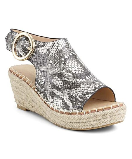 cozy fresh look for exclusive shoes Catherine Catherine Malandrino Snake Cirkly Espadrille - Women ...