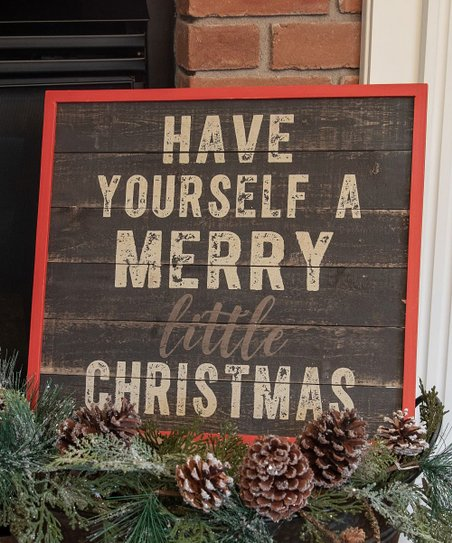 Have Yourself A Merry Little Christmas Sign.Ragon House Have Yourself A Merry Little Christmas Framed