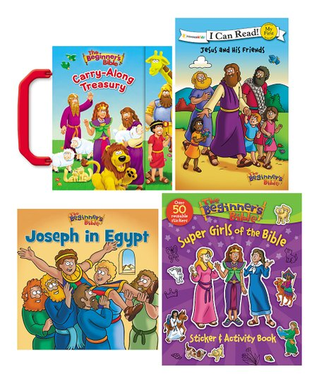 The Beginner's Bible Beginner's Bible Book Set