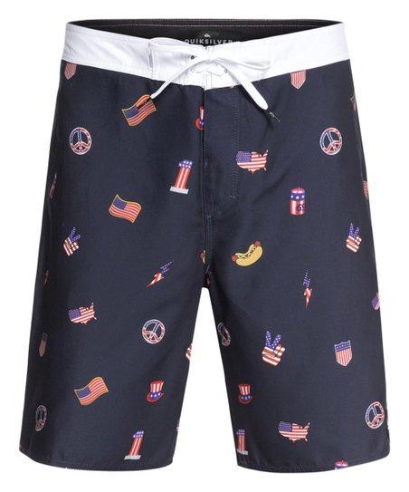 8c6c91c9d7 Quiksilver Navy Blazer Everyday Hot Dog Boardshorts - Men & Big | Zulily