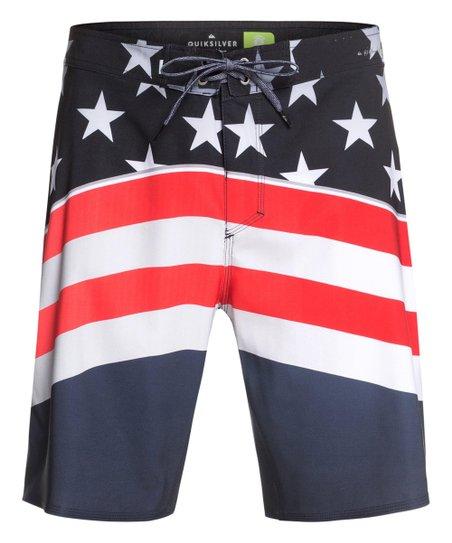 34d16df223 Quiksilver Navy Blazer Highline Freedom Boardshorts - Men & Big | Zulily