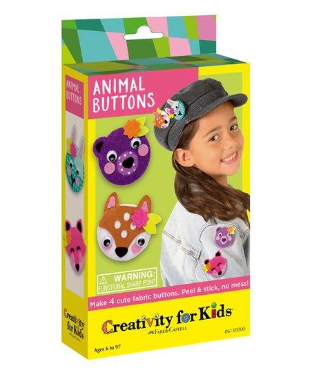 Creativity for Kids Animal Button Kit | Zulily