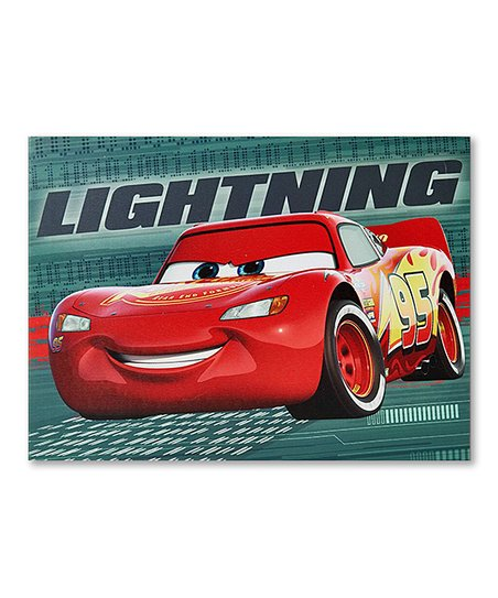 Cars LED Canvas Wall Art