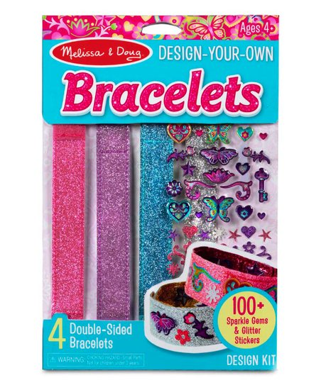 Melissa Doug Design Your Own Bracelets Set Zulily