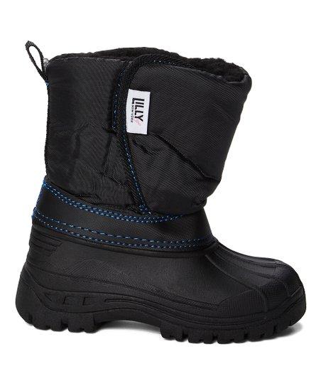 Black Snow Boot - Kids