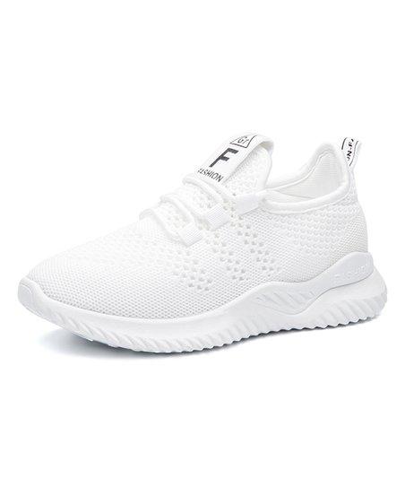 Kuayang White Mesh Running Shoe - Women