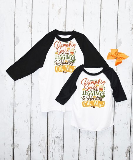 Pumpkin Spice Hoodie for Kids
