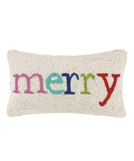 Swell Peking Handicraft White Merry Indoor Outdoor Lumbar Pillow Theyellowbook Wood Chair Design Ideas Theyellowbookinfo