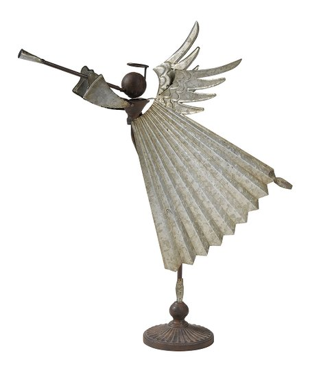 Artistic Home Galvanized Metal Coventry Angel Decor Zulily